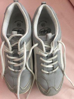 Buffalo Lace-Up Sneaker light grey-white