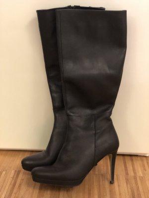 finest selection 9c16c 4e393 Buffalo High Boots black leather