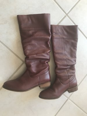 Buffalo Jackboots bordeaux leather