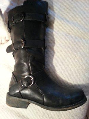 Buffalo Stiefel / Boots wie Fiorentini Baker Größe 38. NP 149.-