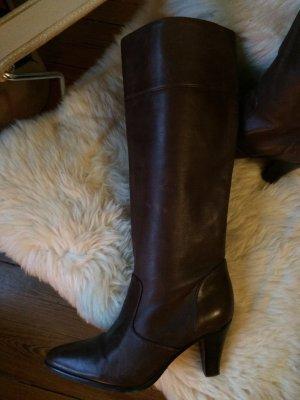 Buffalo Stiefel, butterweiches Leder, Gr. 39, 2 mal getragen, wie neu