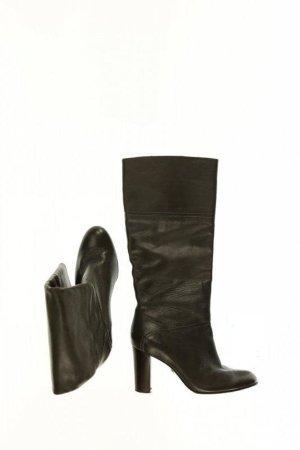 Buffalo Stiefel Damen Gr. DE 38 Leder grau