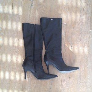 Buffalo Stiefel Gr. 39 schwarz Leder