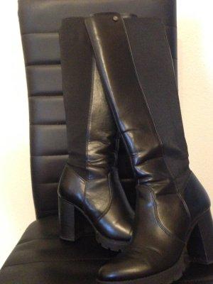 Buffalo Stiefel schwarz mit Absatz