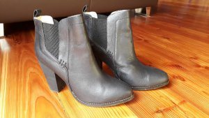 Buffalo Winter Booties black-anthracite leather