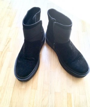Buffalo Winter Booties black synthetic