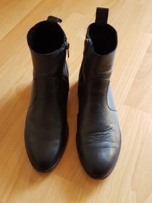 Buffalo Stiefelette,  Schmalschaft-Booties, schwarz