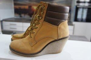 BUFFALO Stiefeln Schuhe Größe 39 Wedge