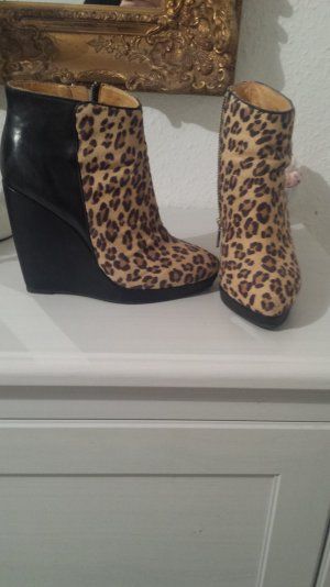 buffalo stifeletten animal print
