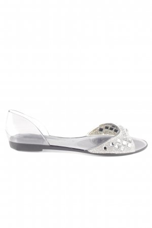 Buffalo Beach Sandals silver-colored casual look