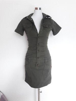 Buffalo Strech Jeanskleid / Minikleid XXS 32
