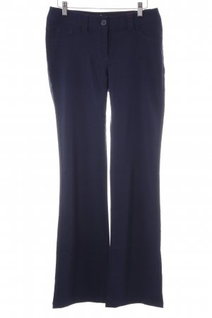 Buffalo Stretchhose dunkelblau Casual-Look