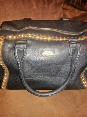 Buffalo Tasche Schwarz Gold