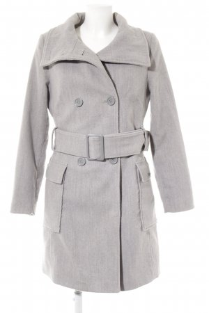 Buffalo Trenchcoat hellgrau-grau Brit-Look