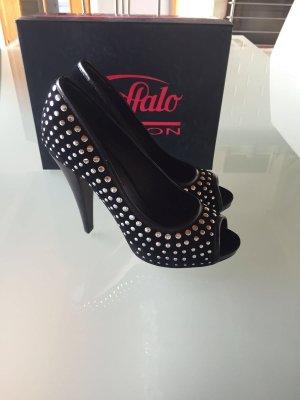 Buffalo Velvet High Heels