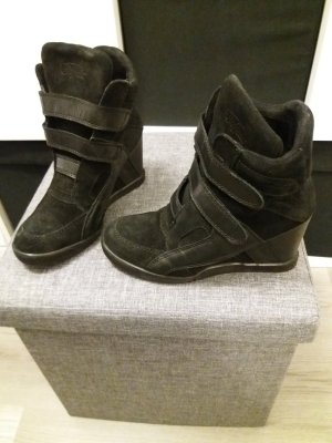 Buffalo Wedge Sneaker black