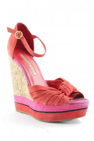 Buffalo Wedge Sandals multicolored extravagant style