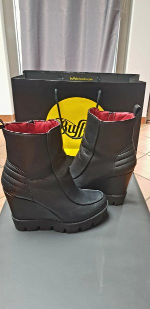 Buffalo Wedges, schwarz, 41