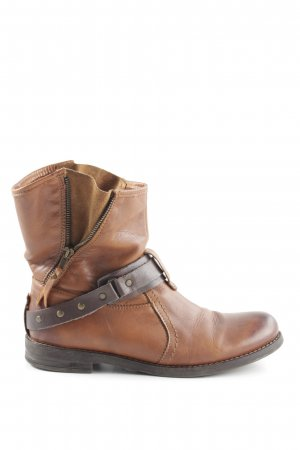 Buffalo Western Booties brown extravagant style