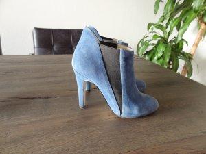 BUFFALO Wildleder-Stiefelette, Blau, Gr. 37!!