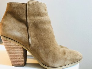Buffalo Booties brown-sand brown suede