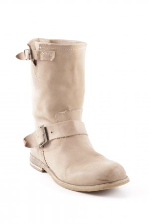 Buffalo Winterstiefel hellbeige Casual-Look