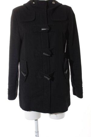 Buffalo Cappotto in lana nero elegante