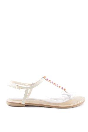 Buffalo Toe-Post sandals multicolored beach look