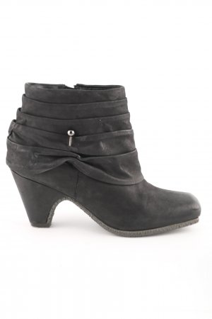Bugatti Booties schwarz Casual-Look