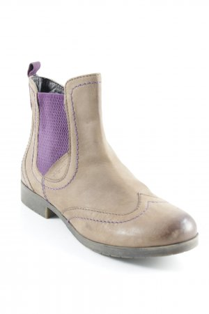 Bugatti Chelsea Boots hellbraun-braunviolett Casual-Look