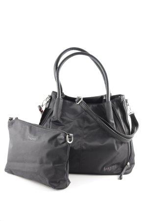 Bugatti Handtasche schwarz Casual-Look
