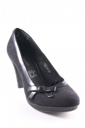 Bugatti High Heels schwarz Elegant