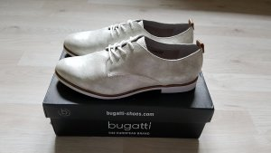 Bugatti Lace Shoes silver-colored