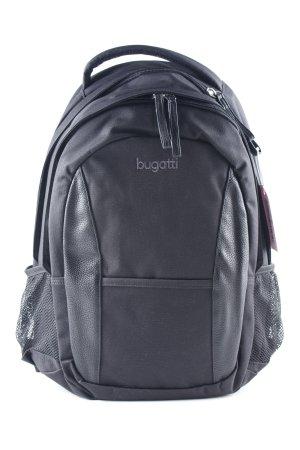 Bugatti Zaino per la scuola nero stile casual