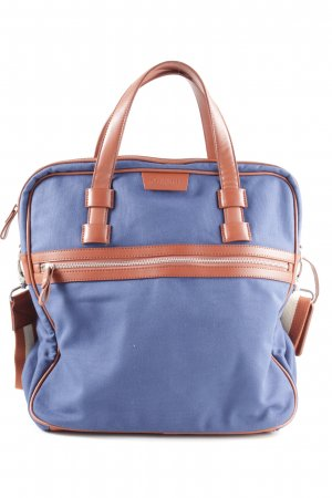 Bugatti Shoulder Bag blue-brown business style