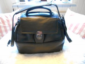 Buisiness Bag schwarz echt Leder abschließbar Neu