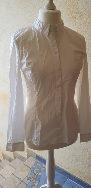 More & More Blouse-chemisier blanc coton