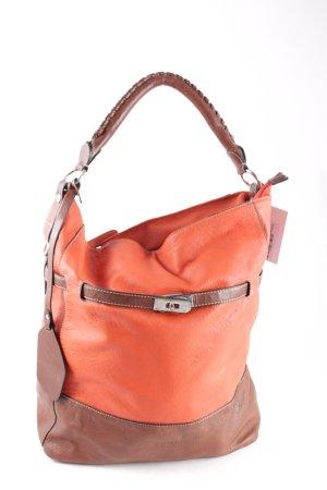 Bulaggi Handtasche dunkelorange-braun Street-Fashion-Look