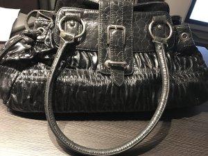 Bulaggi Handtasche - schwarz Lack