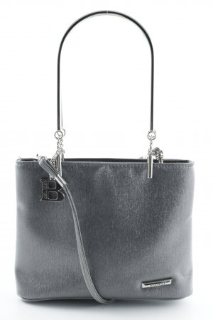 Bulaggi Mini Bag silver-colored wet-look