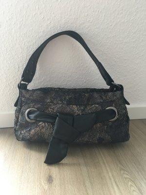 Bulaggi Tasche Handtasche braun schwarz Schleife