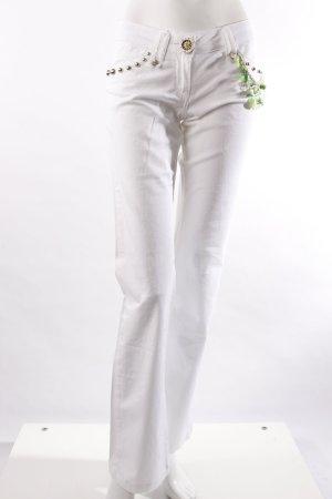 Bulgari Boot Cut Jeans white