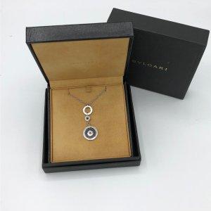 BULGARI BVLGARI Halskette Long Pendant 18K Weißgold - original Rechnung