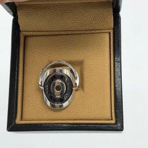 BULGARI BVLGARI  Ring ASTRALE 18 Karat Weißgold - Größe 57- Original Rechnung