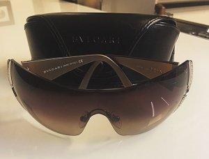 Bulgari Gafas de sol ovaladas color bronce