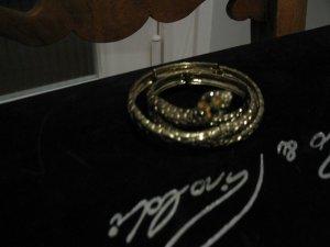 Bulgari/ Cavalli Style - Schlangenarmreif + Uhr als Geschenk dazu