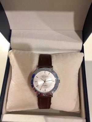 Bulgari Horloge bruin-zilver