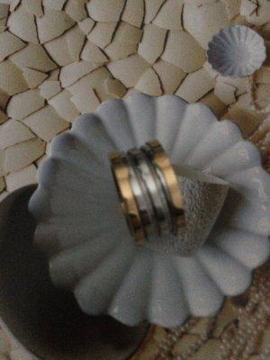 Bulgari Edelstahl Ring