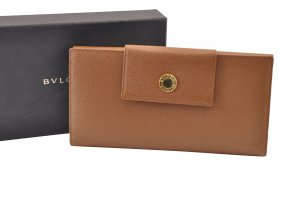 Bulgari Leather Wallet