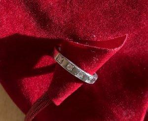 Bulgari Ring Platin mit 5 Diamanten